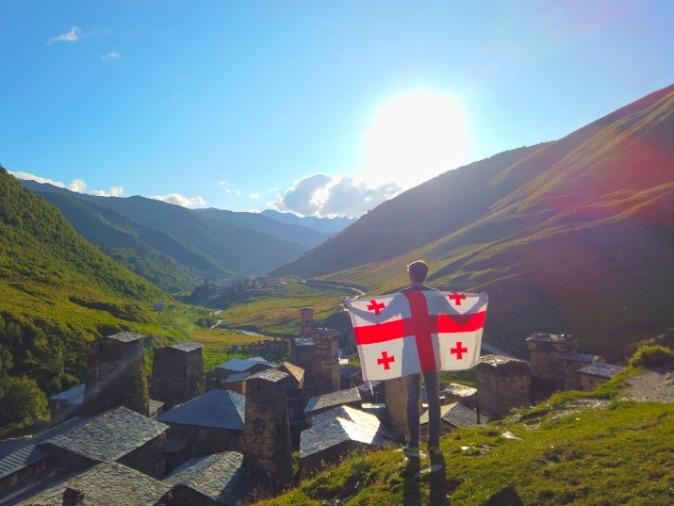 روستای اوشگولی / گرجستان