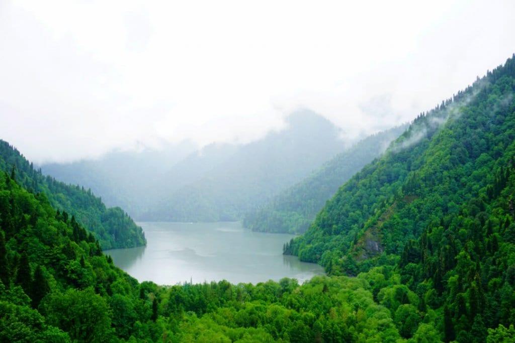 دریاچه ریتسا / گرجستان