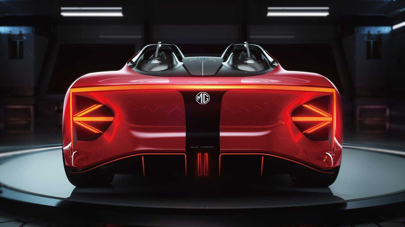 خودروی برقی سوپر اسپورت mg cars