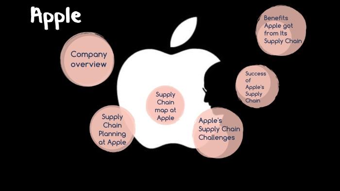 زنجیره تامین اپل