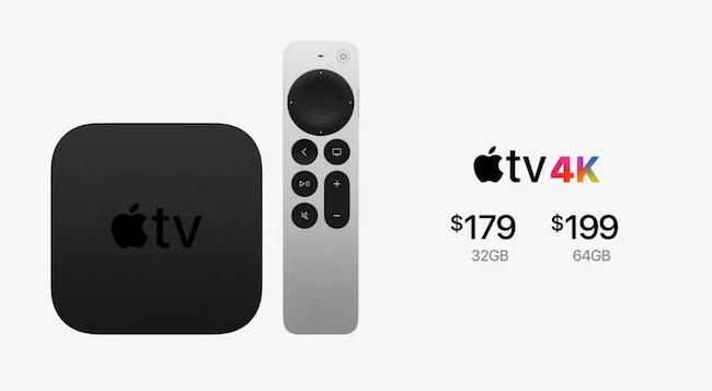اپل تی وی ۴کی ۲۰۲۱