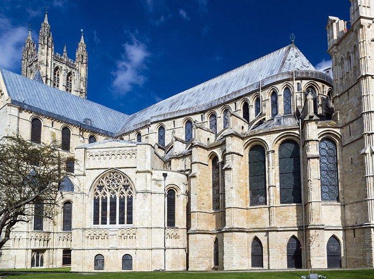 کلیسای کنتربری // جاذبههای گردشگری انگلستان