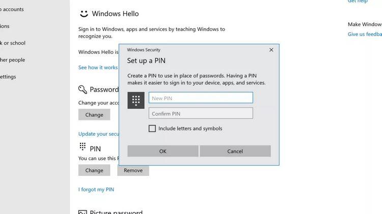بازیابی پسورد حساب کاربری در ویندوز ۱۰