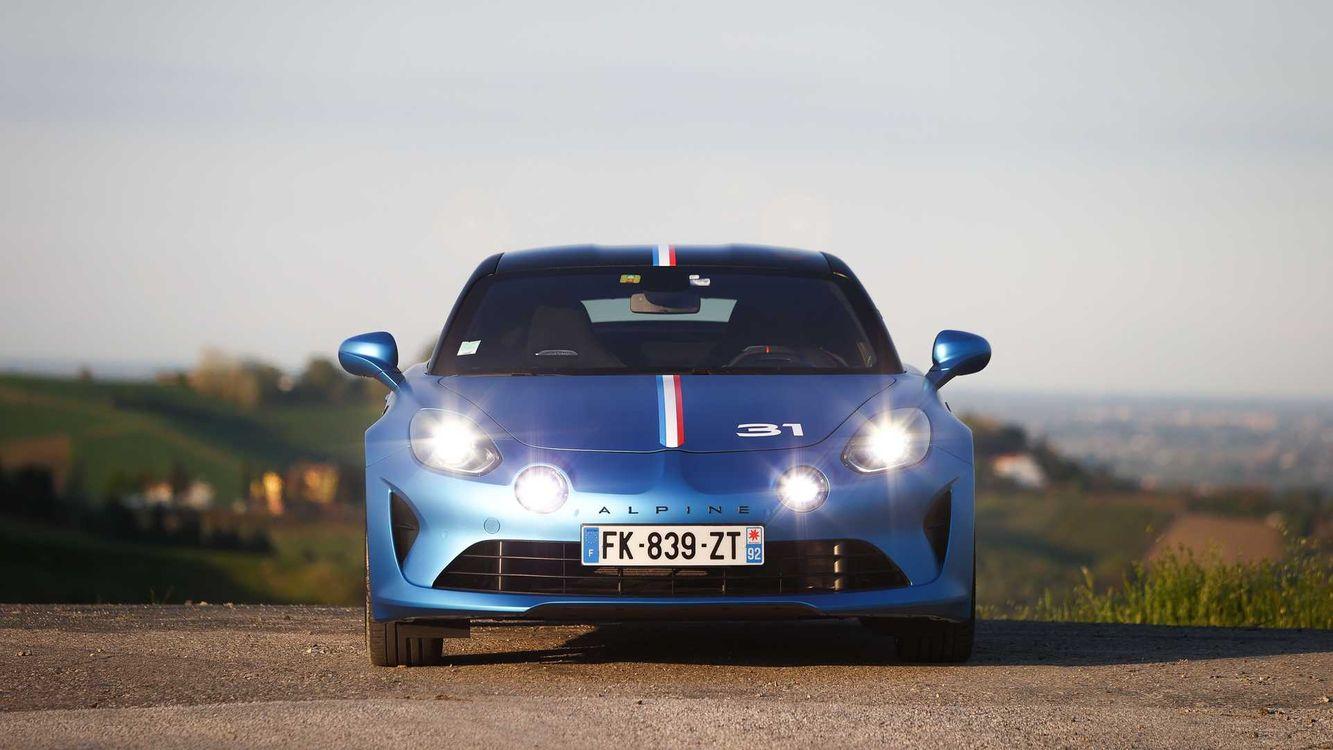خودروی آلپاین A110
