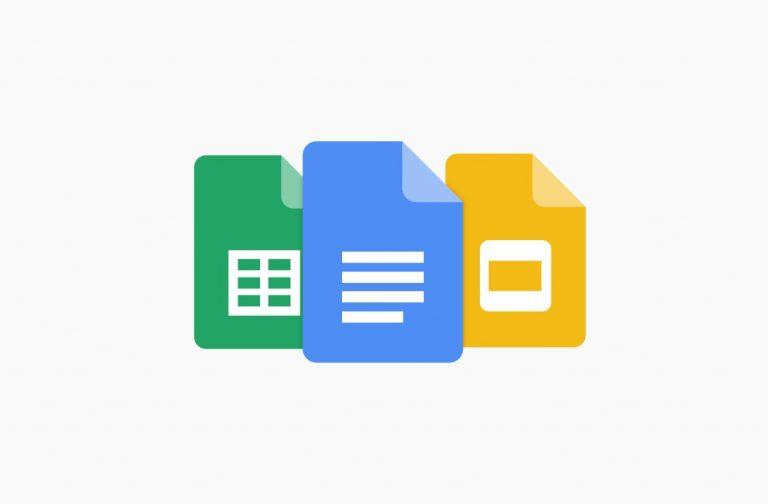 گوگل داکس، شیتس و اسلایدز