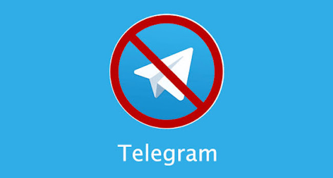 فیلترینگ ایران - تلگرام