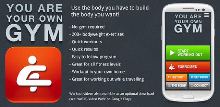بهترین اپلیکیشن های ورزشی و بدن سازی