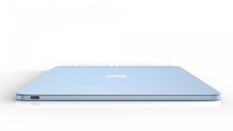 رندر اپل مک بوک ایر ۲۰۲۱