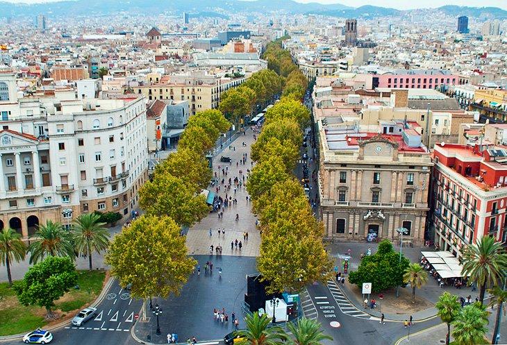 لا رامبلا، بارسلون (La Rambla, Barcelona)