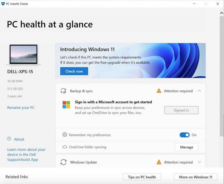 دانلود Pc Health Check ویندوز ۱۱