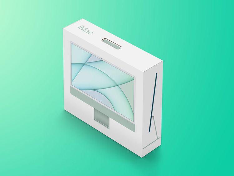 جعبه گشایی اپل آیمک ۲۰۲۱