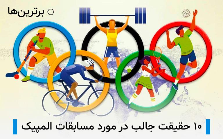 حقایق جالب درباره مسابقات المپیک