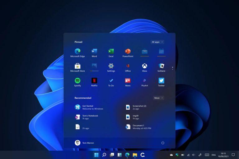 نسخه رسمی بتای ویندوز 11