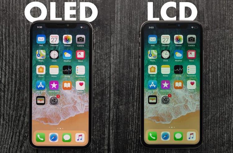 نمایشگر اولد و LCD گوشی