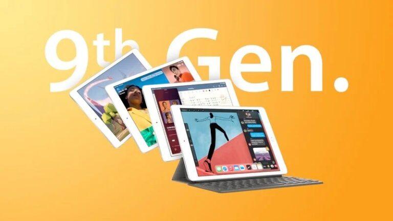 نسل نهم آیپد اپل