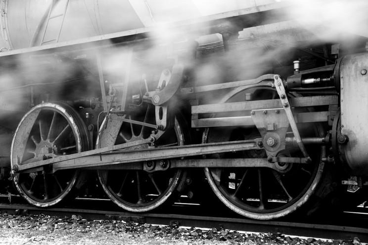 قطار موتور بخار - یک نوآوری و اختراع