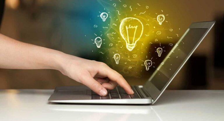 اینترنت و لپ تاپ